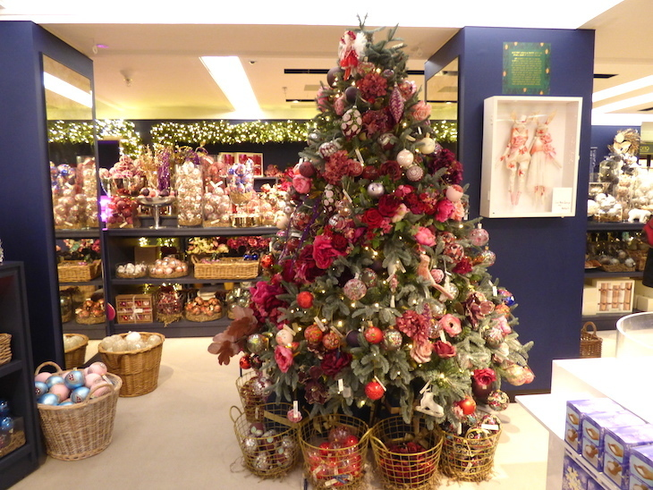 Which London Department Store Does Christmas Best Londonist