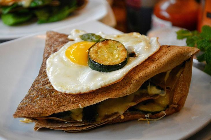 Crepes make for a mighty fine brunch in London, and Senzala serves up some of the best