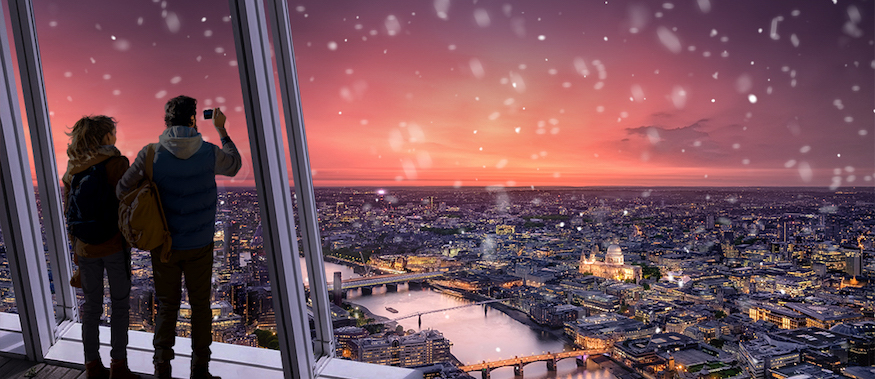 Treat The London Lover In Your Life To A Magical View Of The City This Christmas