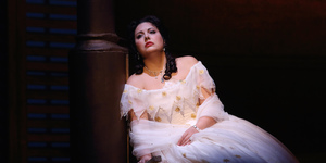 Black Christmas: La Traviata At Royal Opera House