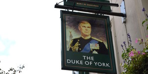 Prince Andrew Still Swings At Fitzrovia's Duke Of York Pub
