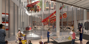 New London Fire Brigade Museum Wins Approval