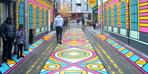 Walthamstow Alley Gets Bright New Look