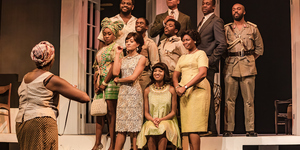 Love Is A Battleground In Ellams' Three Sisters At National Theatre