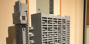The Brutalist Trellick Tower Made Of Lego