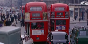 1970s London From The Top Deck Of A Routemaster