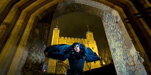 This Drag Raven Is Leading LGBTQ+ Tours Of The Tower Of London