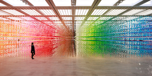 Walk Through The Rainbow At This Fantastically Colourful New Exhibition