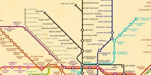 Harry Beck's Original London Underground Map... But With 2020's Tube Network