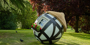 These Amazing Spherical Sculptures Are Rolling Into London
