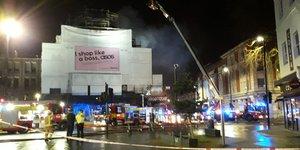 Camden's Koko Nightclub Ablaze Last Night
