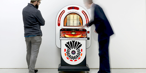 A Jukebox In The City Of London That Only Plays Songs About London