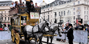 Take A Free Horse-Drawn Tram Ride This February