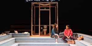 Witty And Fresh: Scenes With Girls At Royal Court Theatre