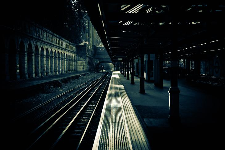 South Kensington platform
