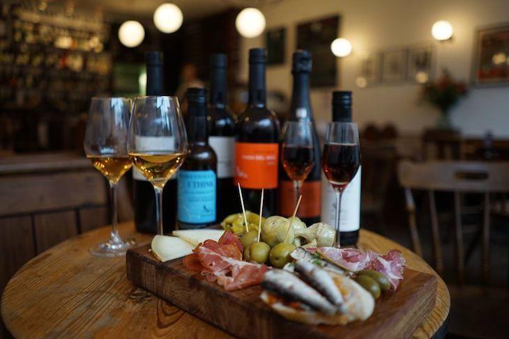 Albertine is a fantastic wine bar in Shepherd's Bush