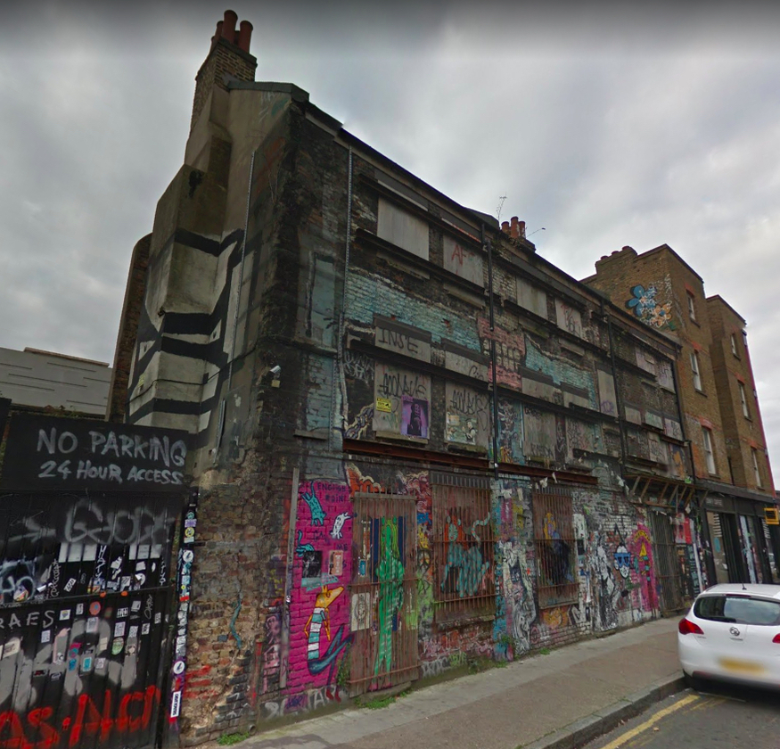 Campaign To Save Sclater Street Houses Near Shoreditch High Street Station