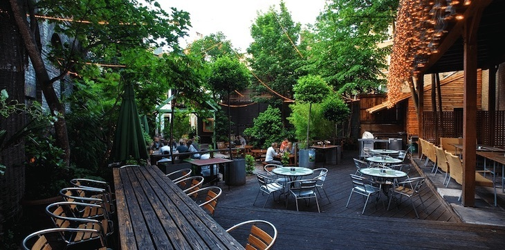 Beer garden goodness can be found at Garden Bar in Shepherd's Bush