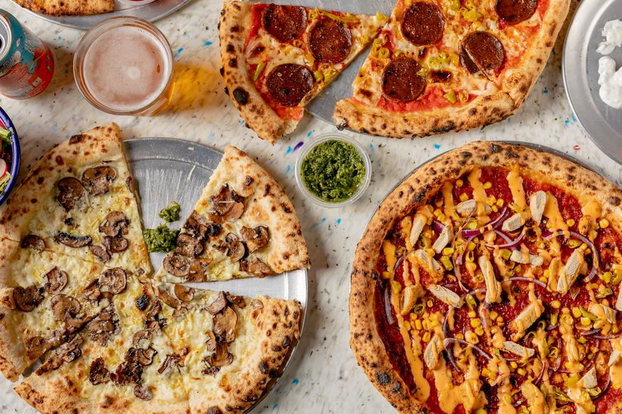 Yard Sale Pizzas Vegan Menu Brings The Fire Londonist