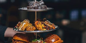 PSA: Chicken Wing Afternoon Tea Is A Thing That Exists In London