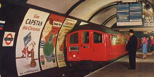 Ride On A 1938 Art Deco Tube Train This April