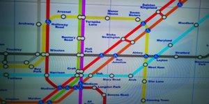 The Tube Map On Call Of Duty: Modern Warfare Will Give You A Migraine