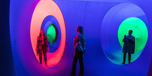 This Colourful Light Labyrinth Is Returning To London In April