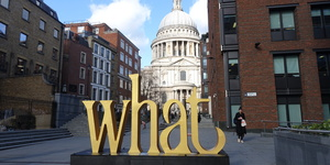 What Are Those Random Words Dotted Around St Paul's All About?