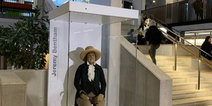 Jeremy Bentham's Body Gets A Contentious New Box At UCL