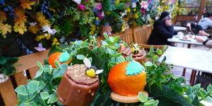 Spring Has Sprung With Dominique Ansel's Beautiful New Flower Garden Afternoon Tea