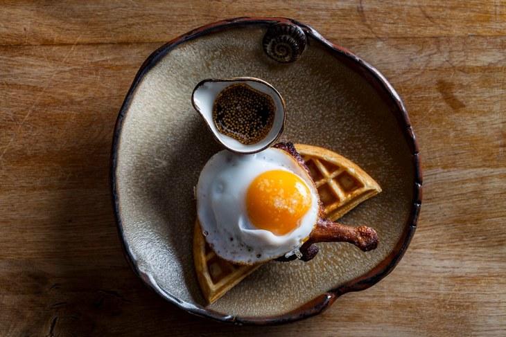duck waffle