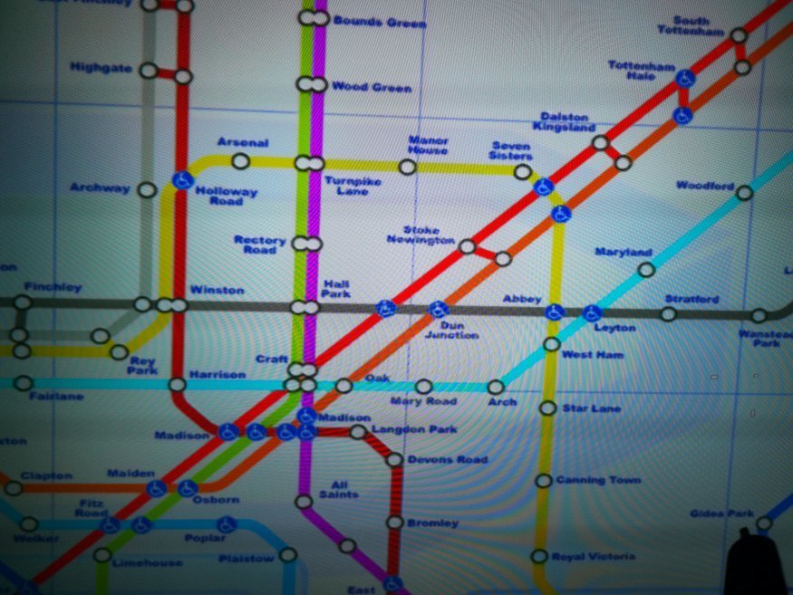 The Tube Map On Call Of Duty Modern Warfare Will Give You A Migraine Londonist