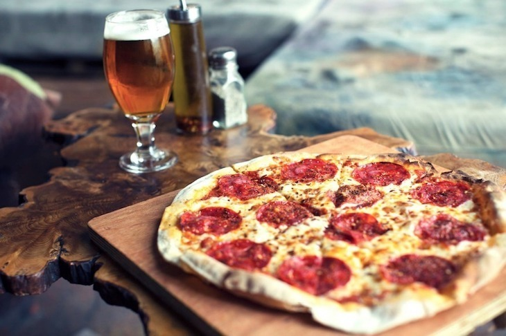Great beer and delicious pizza await at Crate Brewery, one of the best bars in Hackney Wick