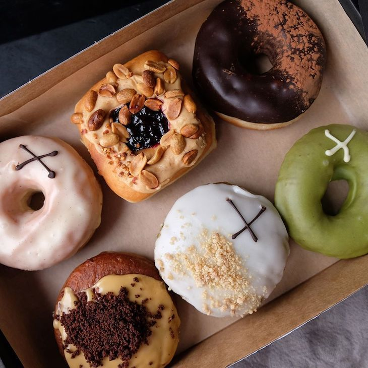 Crosstown Doughnuts is one of London's best dessert bars
