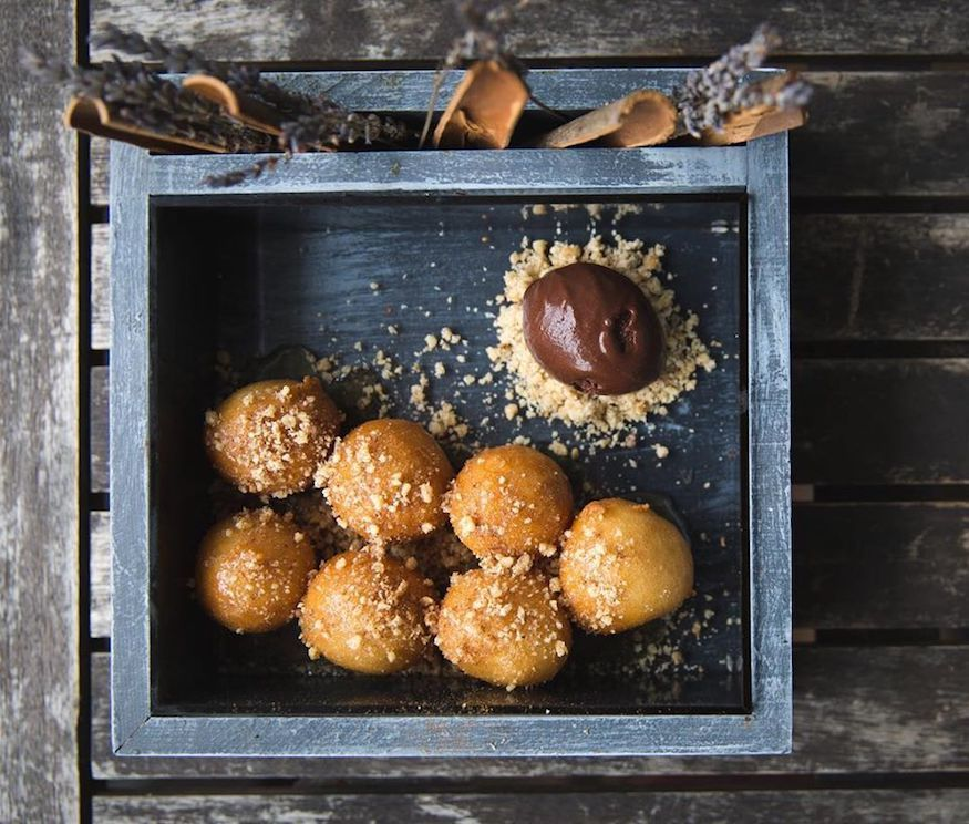 Looking for the best dessert in London? Look no further than the loukoumades at Mazi