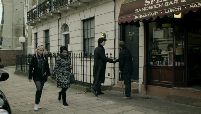 Still from Sherlock