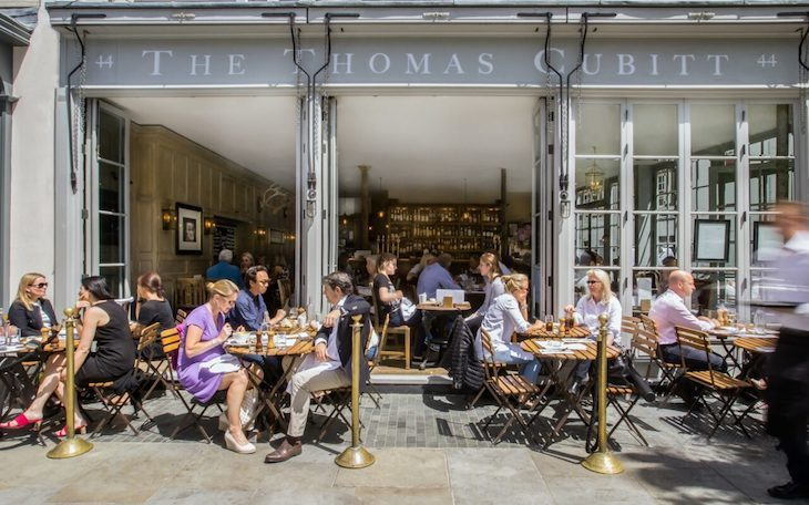 Looking for London's best, secret foodie pubs? The Thomas Cubitt is a gastropub with wow factor