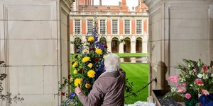 Hampton Court Palace Will Be Filled With Glorious Flower Displays On Mother's Day Weekend