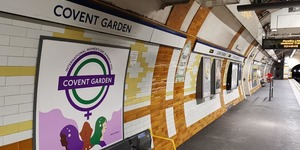 Have You Spotted These Special International Women's Day Roundels On The Tube?