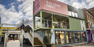 Camden's New Shipping Container Market Is Now Open