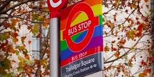 The Story Behind London's Most Colourful Bus Stops