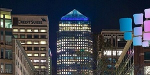 How London's Empty Buildings Are Paying Tribute To NHS Staff