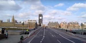 This New Video Shot From A Bus Shows Just How Empty Central London Is Right Now