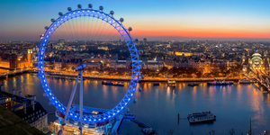The London Eye Is Turning Blue Tonight, In Honour Of Our NHS Heroes