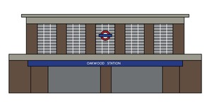 11 Illustrations Of Tube Station Frontages
