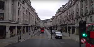 This Video Shot From A London Bus Shows How Empty The Streets Are Right Now