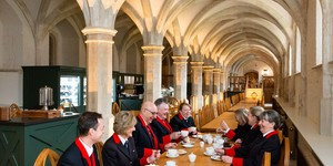 You Can Now Take Tea In This Medieval Cafe Beneath Windsor Castle
