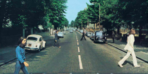 Someone Just Reimagined The Beatles' Abbey Road Cover With Social Distancing