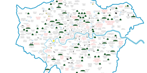 Etymology Map Of London Place Names
