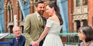 Coronavirus Cancels Couple's Wedding, So They Have It At St Pancras Station Instead